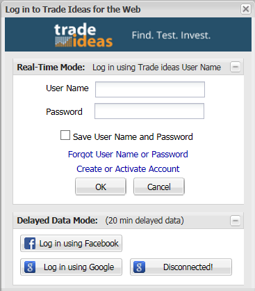 Trade Ideas | TI Web