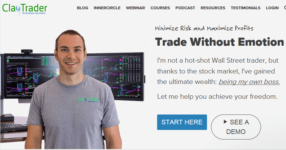 ClayTrader website