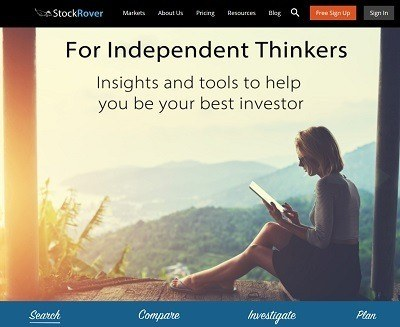 StockRover | For Independent Thinkers