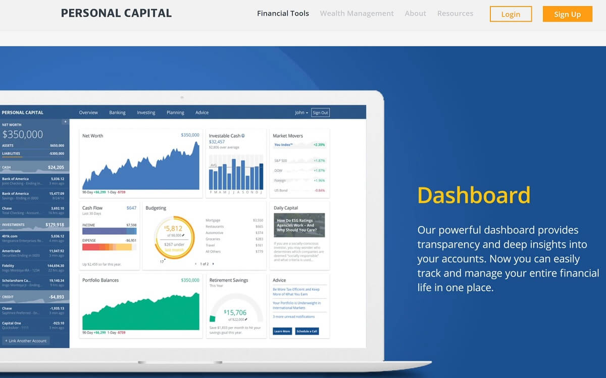 Dashboard | Personal-Capital