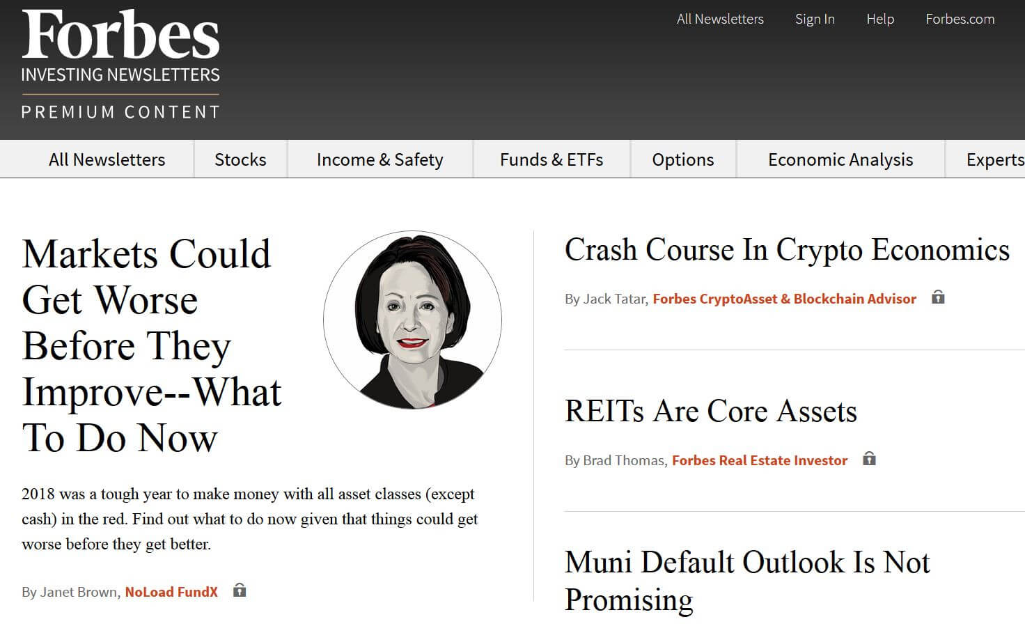 Forbes investing newsletters