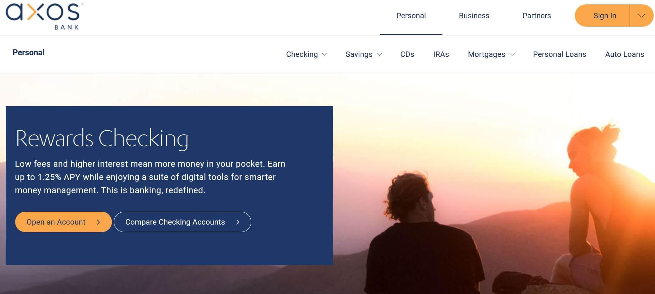 axosbank rewards checking account