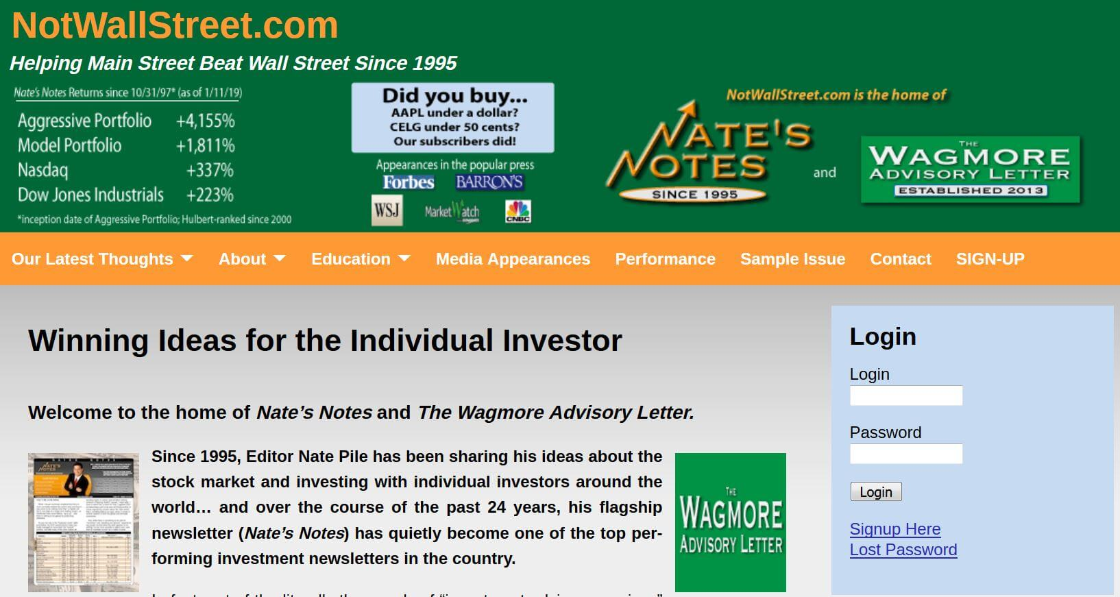 nates notes | notwallstreet