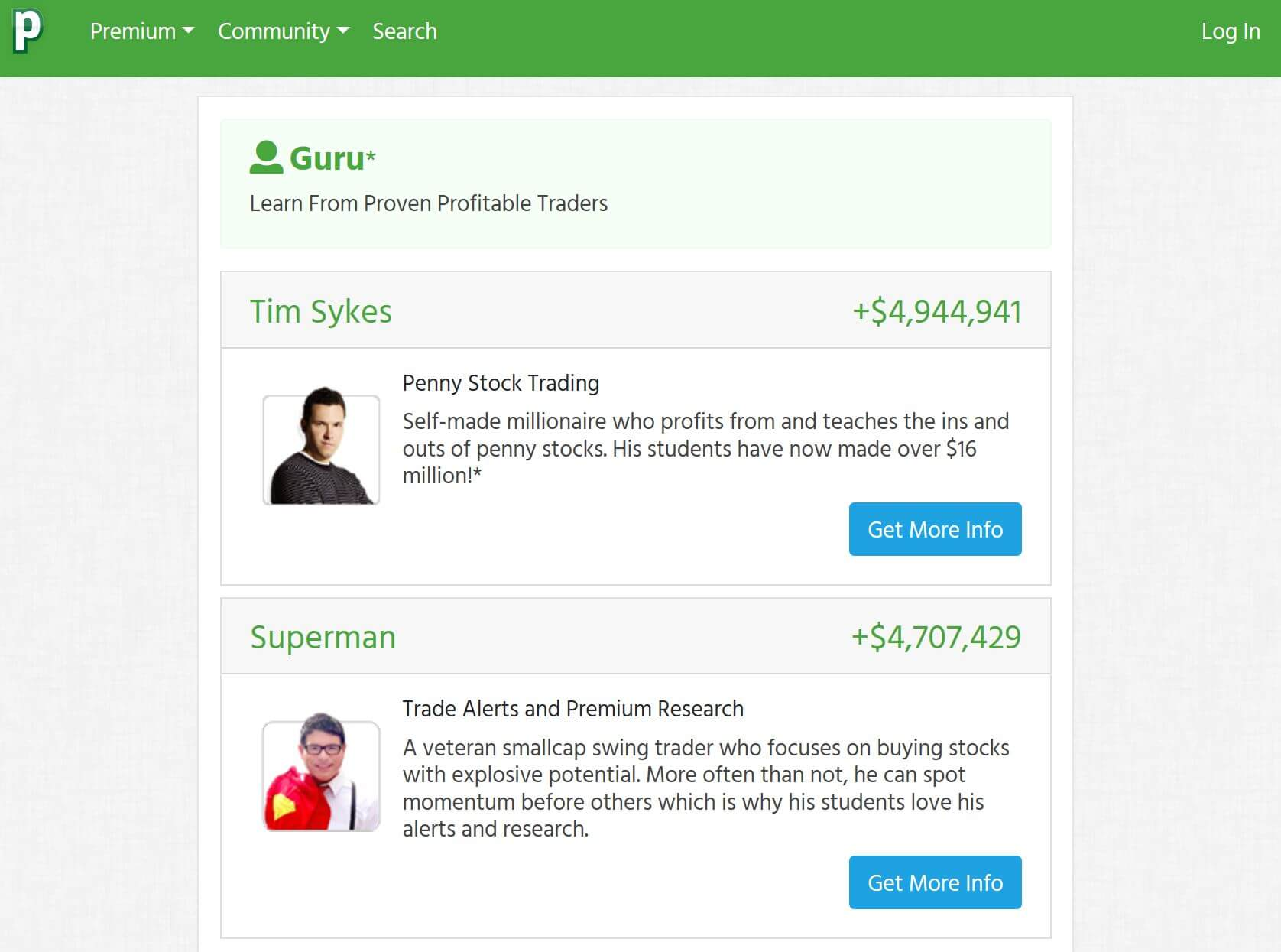 profitly teachers: Tim Sykes and Superman