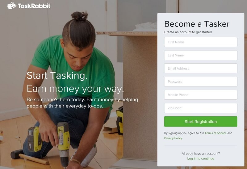 TaskRabbit-Alternative to Upwork
