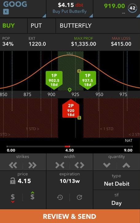 TastyWorks Trading Platform - Mobile