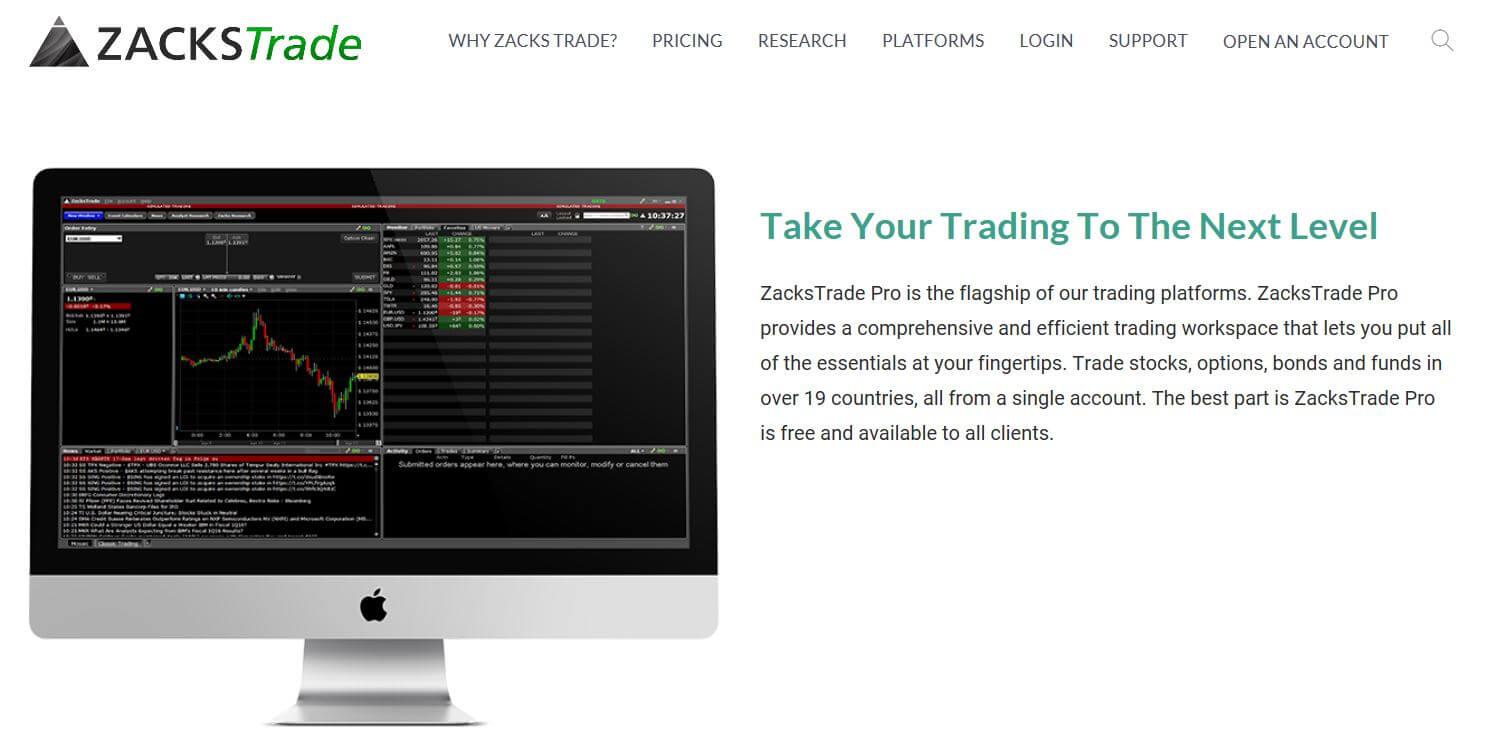 Zacks Trade Pro