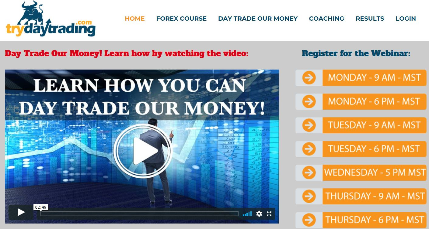 Try Day Trading Funded Trader Program Review