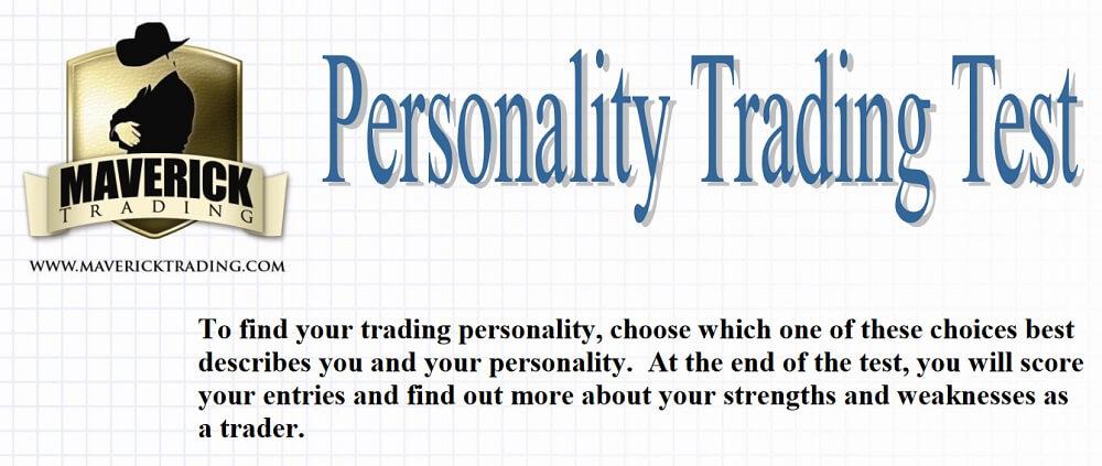 Maverick Trading - Personality Test