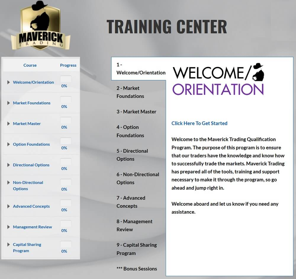 Maverick Trading - Training Center