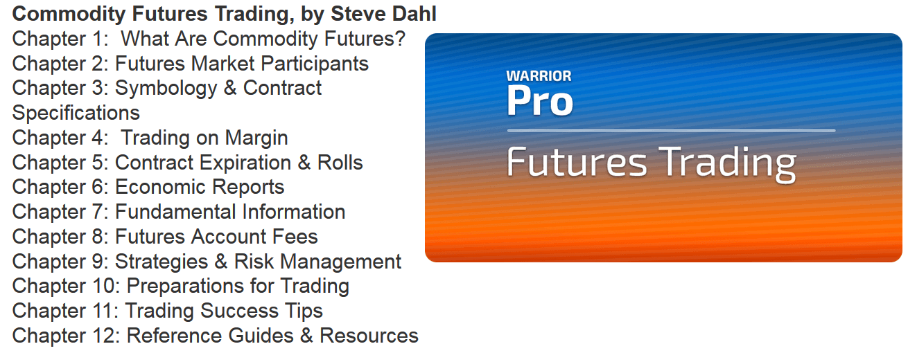 Warrior Trading Futures Trading