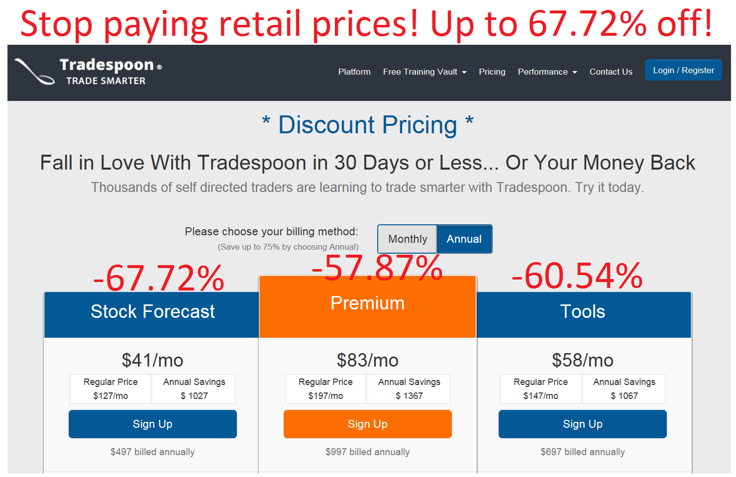Tradespoon Promo Codes and Discounts