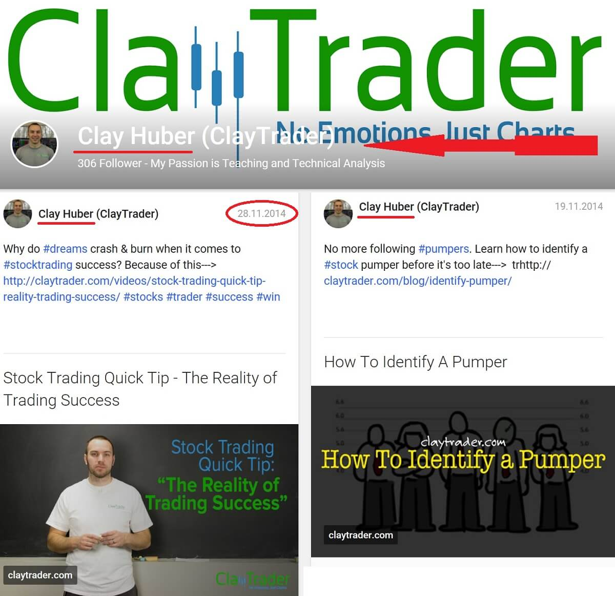Clay Traders real name