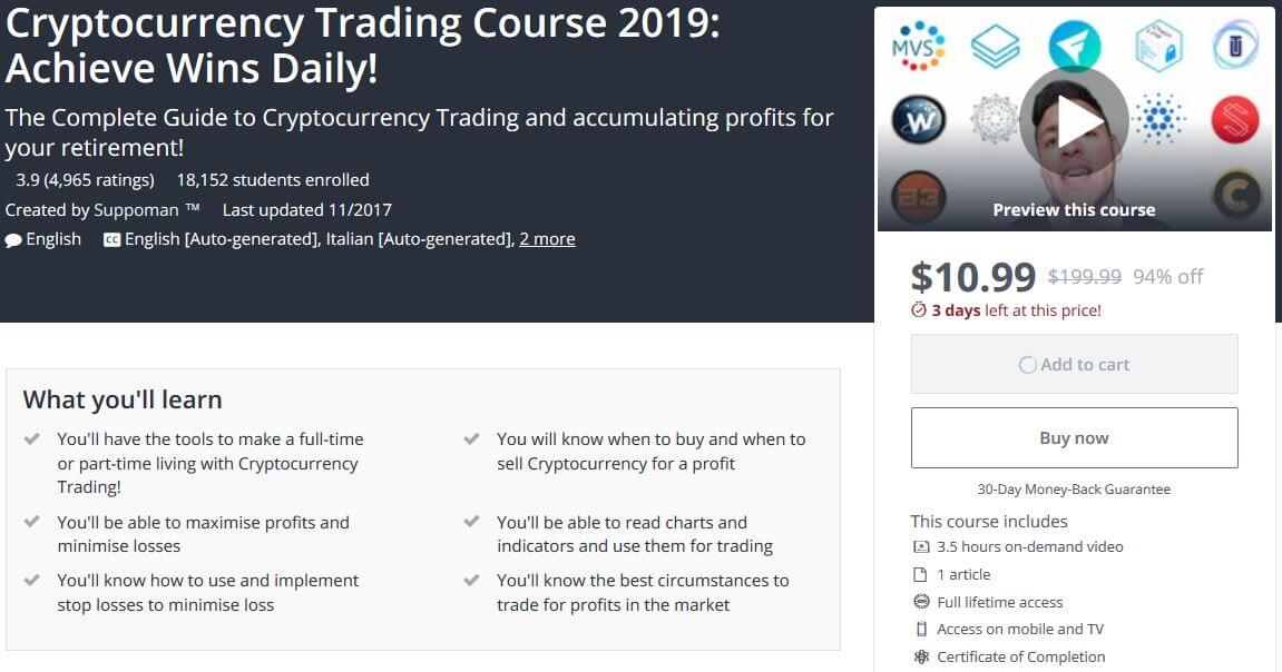 Cryptocurrency Trading Course - Suppoman (TM)