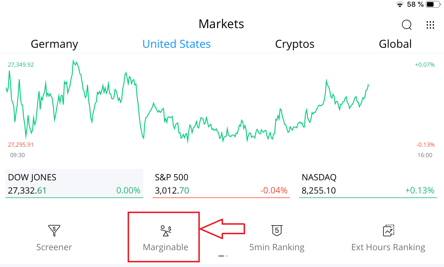 Check Margin with your Webull App