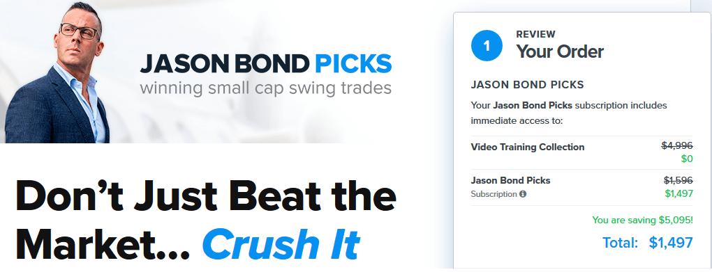 Jason Bond Picks Costs
