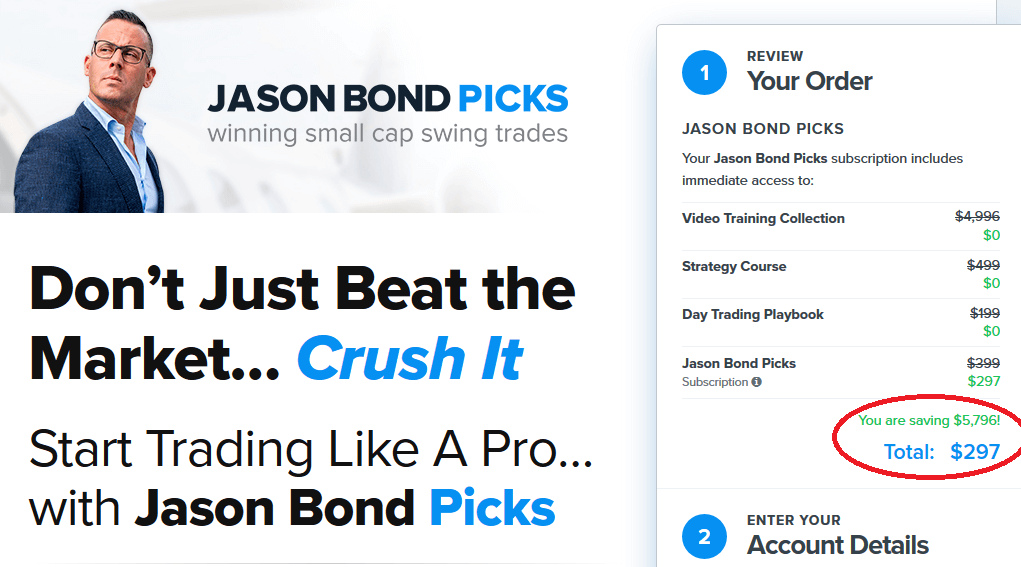 Jason Bond Picks Promo Code