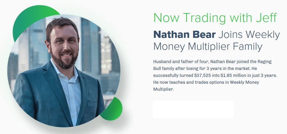 Nathan Bear | Weekly Money Multiplier