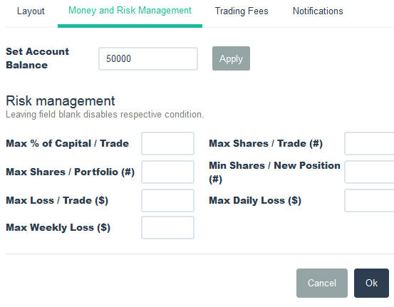 TradingSim | Money and Risk Management