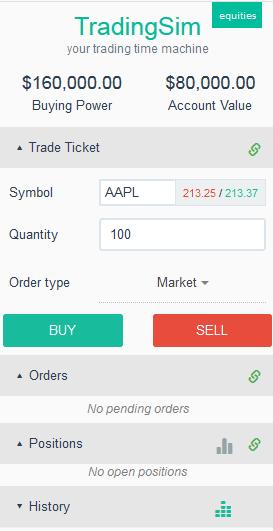 TradingSim Trading Platform