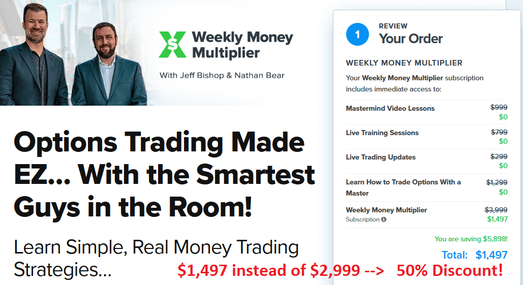 Weekly Money Multiplier | Yearly Subscription
