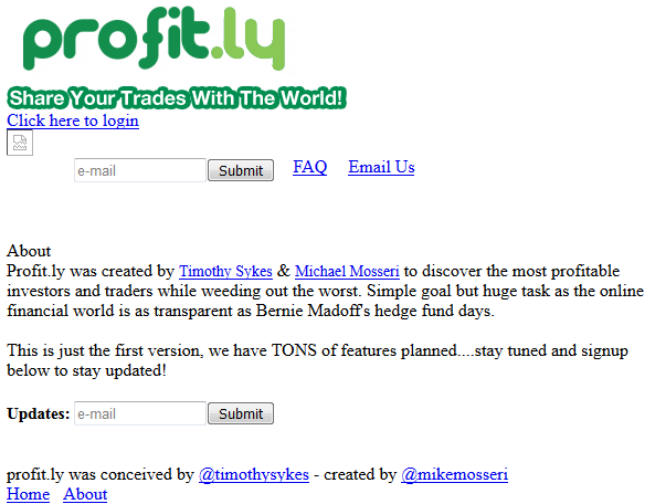Profit.ly founded in 2010