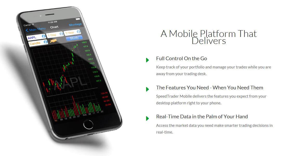 SpeedTrader Mobile App