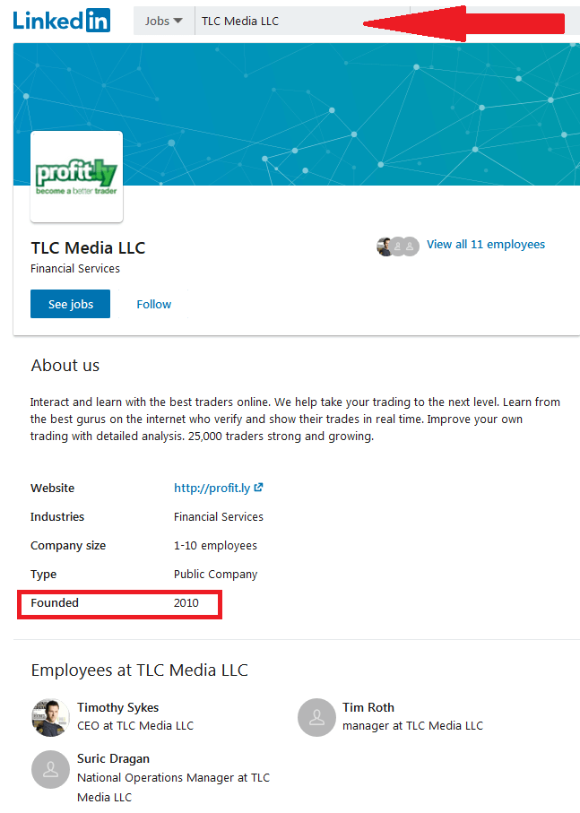 TLC Media LLC | Timothy Sykes