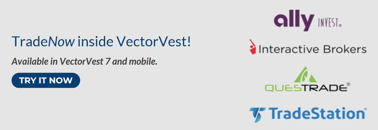 Brokerintegration with VectorVest