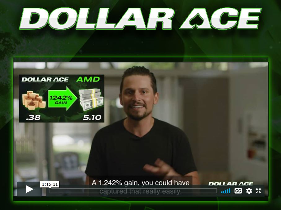 Dollar Ace | Options Trading with Kyle Dennis