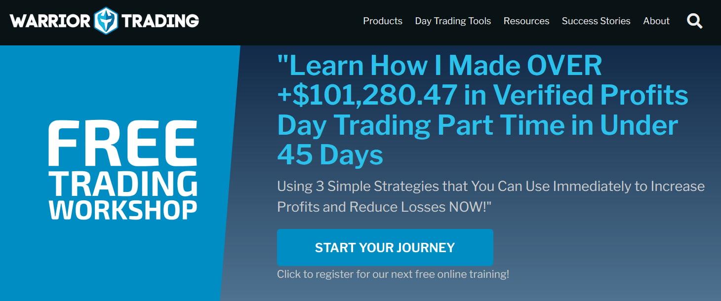 Warrior Trading   Warrior Starter Course