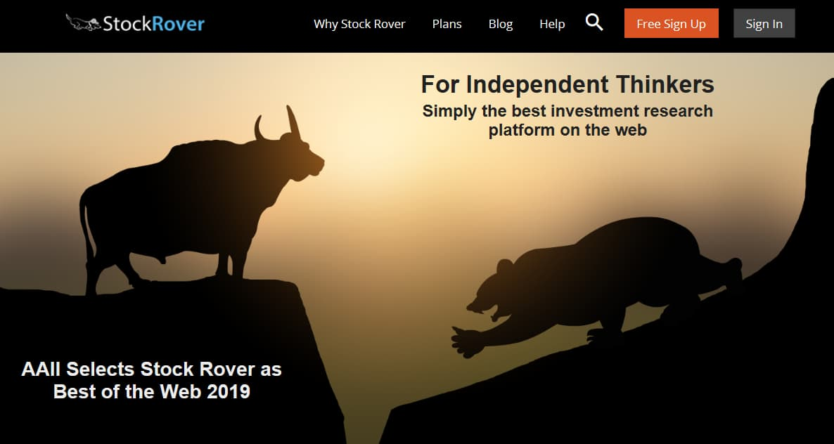 Stock Rover Investment Research