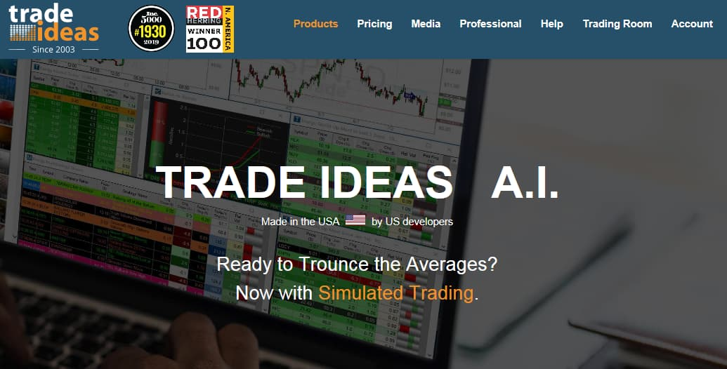 Trade Ideas Stock Screener