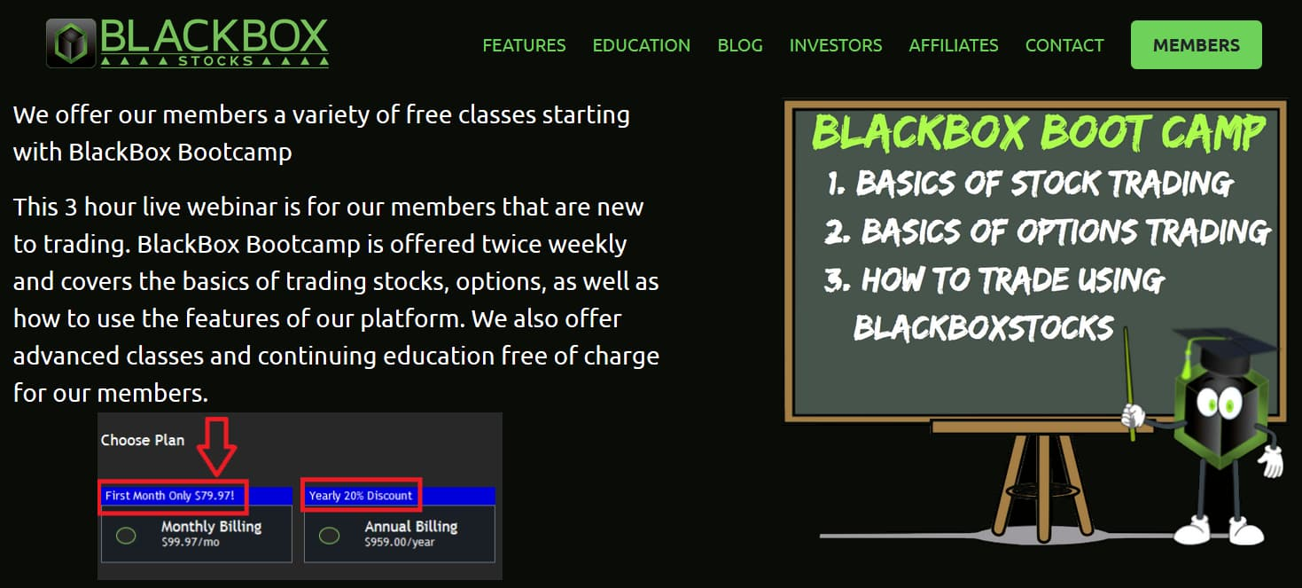 Black Box Stocks Boot Camp