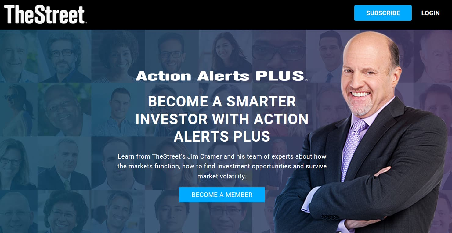 TheStreet Action Alerts Plus Subscription