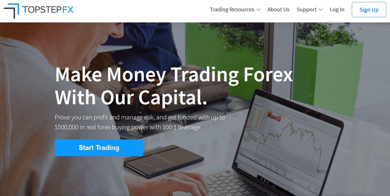 TopStepFX Funded Trader Program