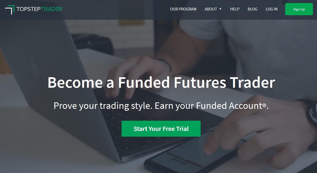 TopStepTrader | Funded Trader Program