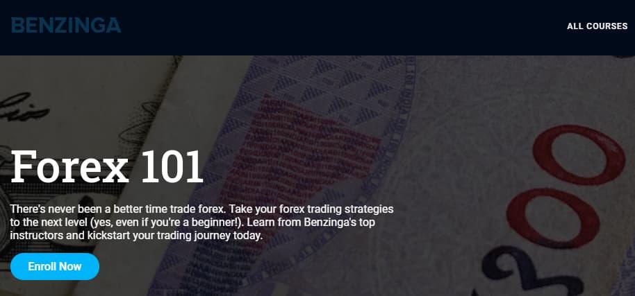 Benzinga Best Forex Tradining Course