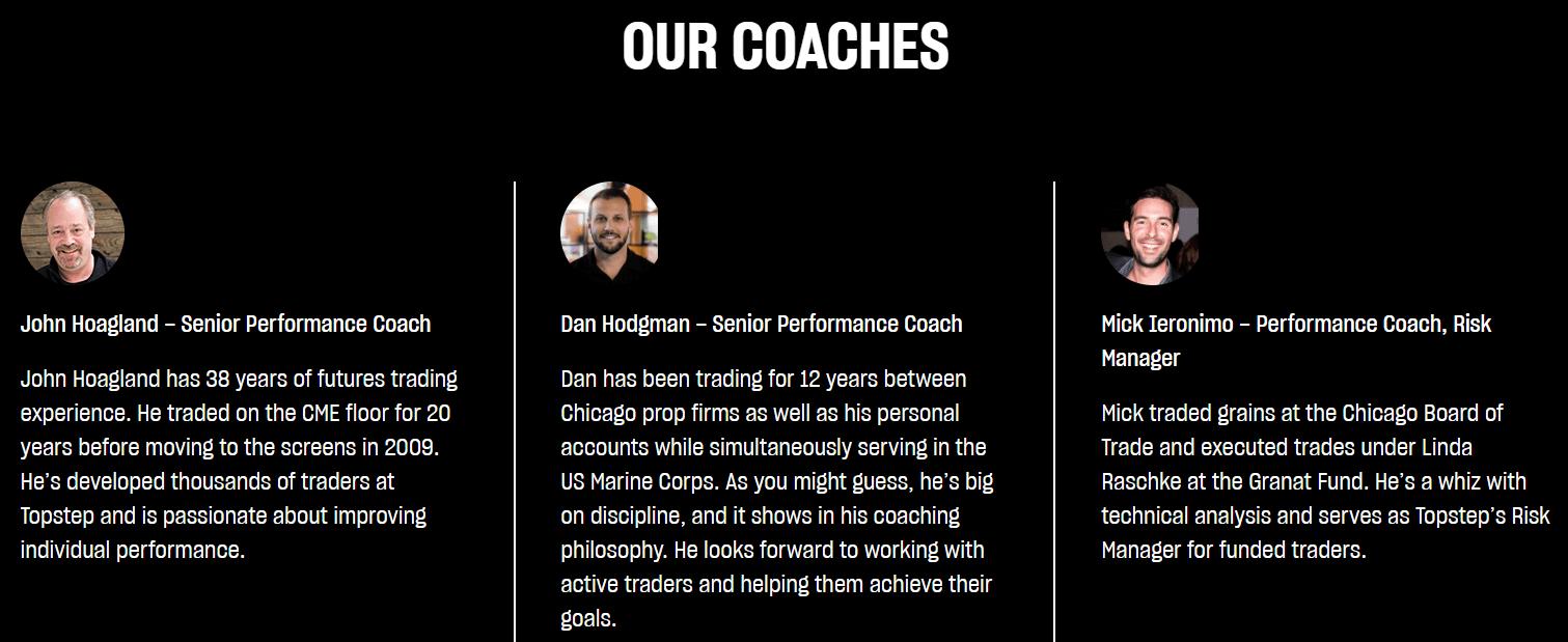 TopstepTrader Performance Coaching