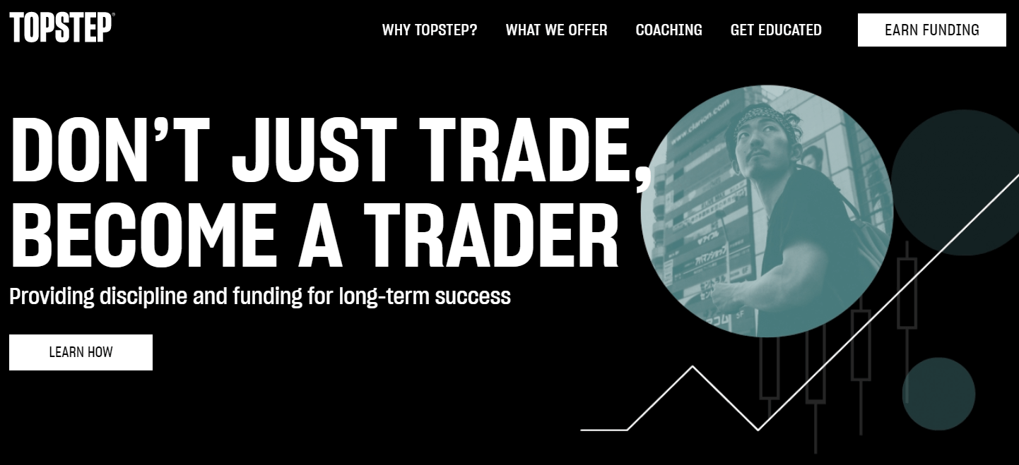 TopStepTrader Funded Trader Program