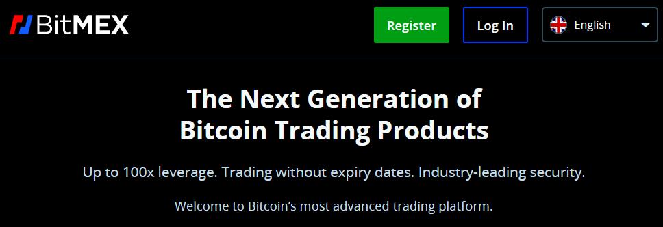 BitMEX Cryptocurrency Trading Platforms