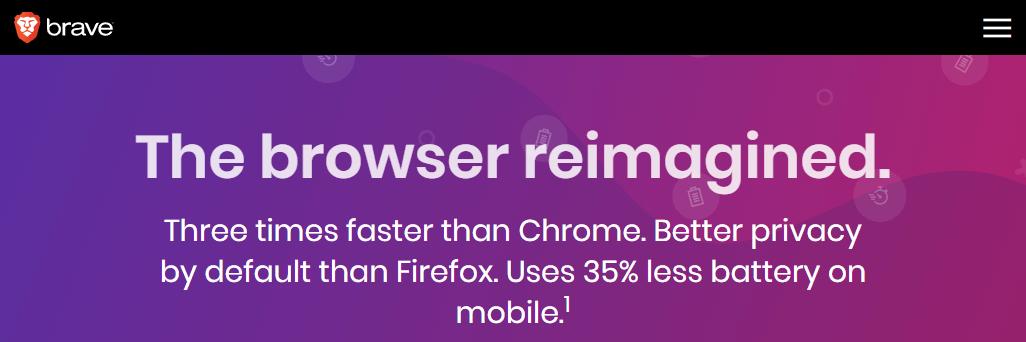 Brave mobile browser solution
