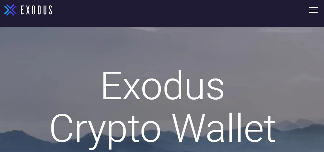 Exodus cryptocurrency software wallet