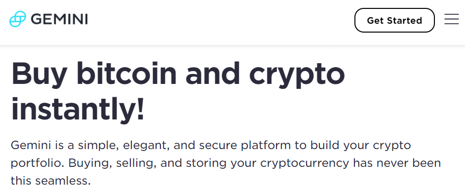 Gemini Day Trading Crypto Exchange