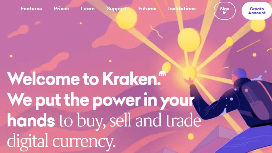 Kraken OTC Crypto Trading Exchange