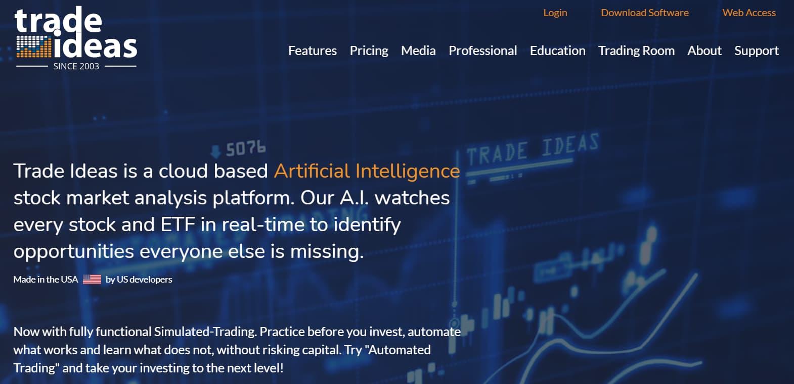 Trade Ideas Stock Screener