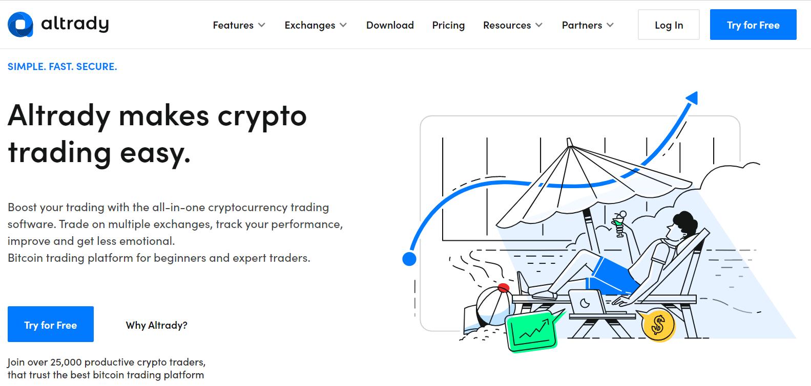 Altrady Bitcoin Trading Platform