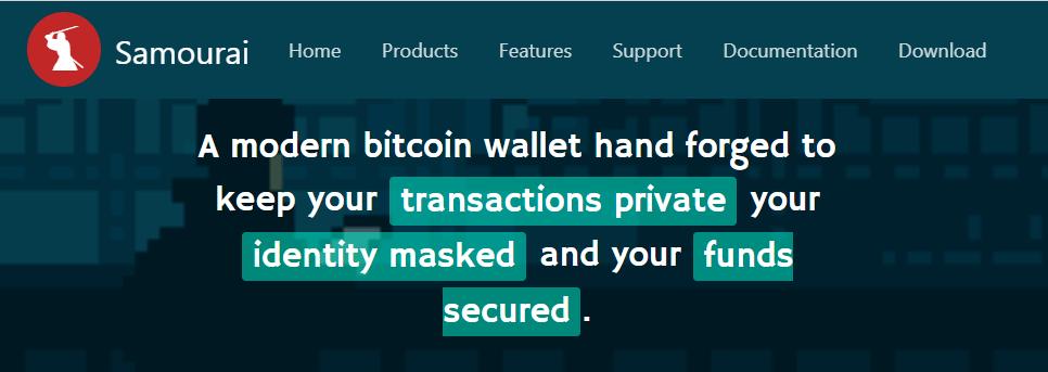 Samourai Anonymous Wallet