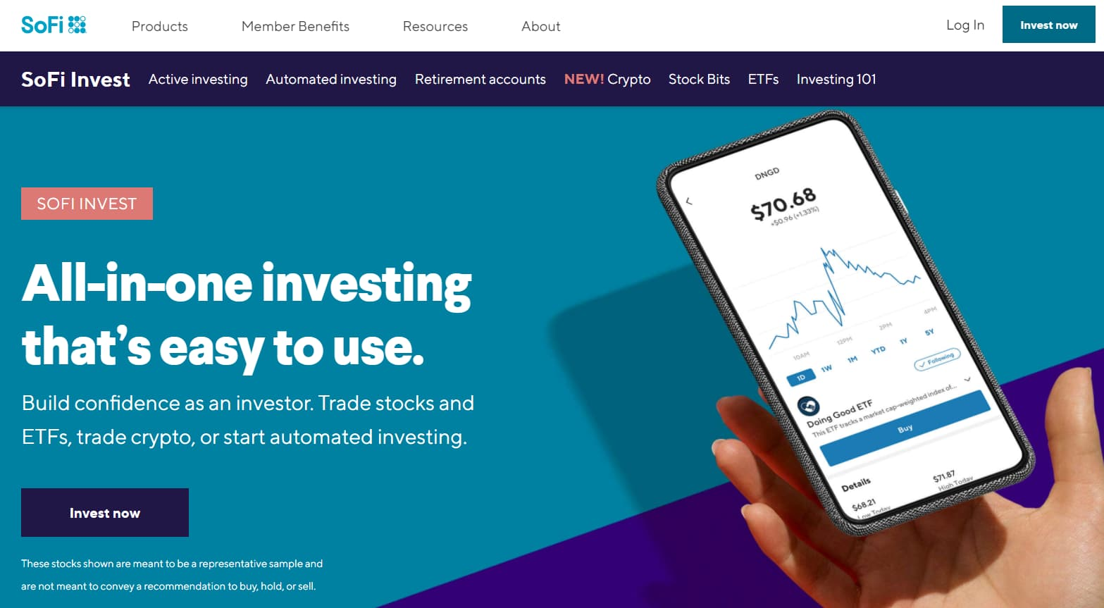 SoFi Invest App: Stock, ETF, Automated Investing