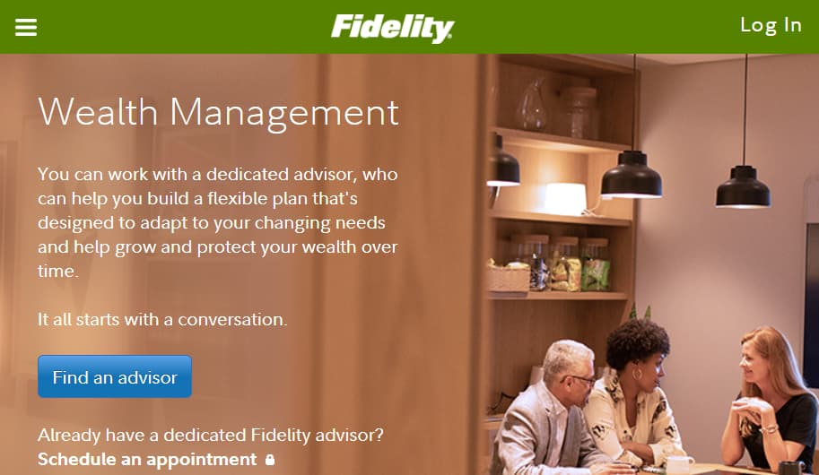 Fidelity Investments Wealth Service